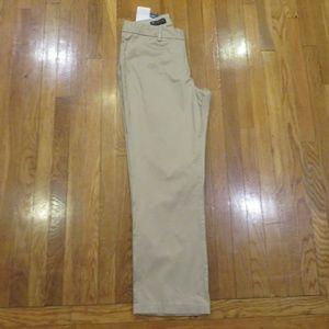 Lee Modern Series Curvy Fit Khaki Pants